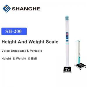 China Health Tool Microcomputer EUIPO Ultrasonic Height And Weight Machine wholesale
