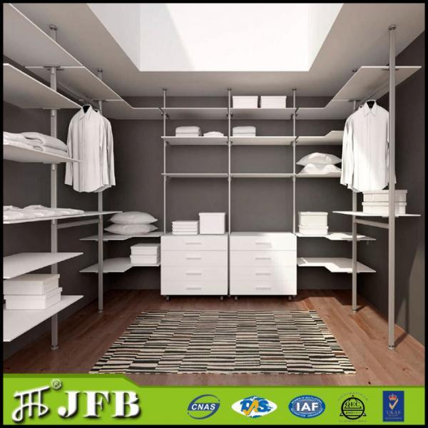 Bathroom storage shelves images for Walk in wardrobe fittings