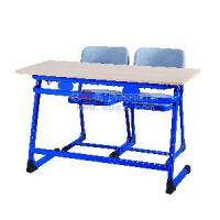 Quality PP Seat Double Desk and Chair (SF-32D) for sale