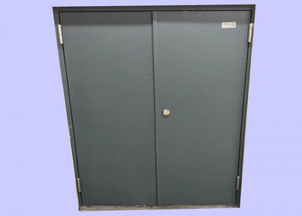 Quality 1.2 mm Galvanized Steel 30/ 60/ 90 min Office Buildings Insulated Fire Doors Doha for sale