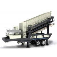China Effective Mobile Screening Plant Vibrating Screen For Mine Operations on sale