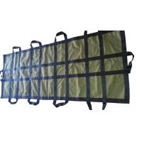 China Strong Canvas Fabric Mortuary Body Bags Single Layer With Waterproof Coating wholesale