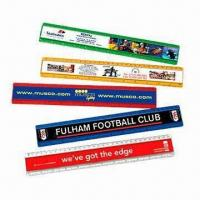 China Promotional Rulers, Made of PVC and Aluminum wholesale