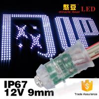 China 0.15W Power Pixel LED Lighting White Color With PVC Shell Silicone Inside wholesale