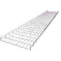 China 600*50mm flexible electrical wave welding wire basket mesh trays system for industrial wholesale