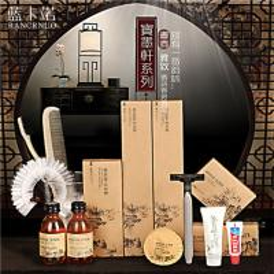 China RANCRNUO luxury Chinese Ink packaging hotel bathroom amenities wholesale