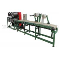 China Continrous Production Rubber Batch Off Machine Frequency - Control Speed Regulation on sale