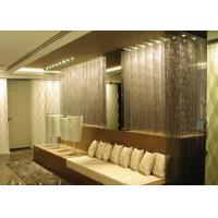 China Room Separator Metal Chain Curtains , Aluminum Coil Drapery For Home Decoration wholesale