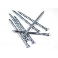 China 4.8mm / 80mm Iron Wire Nails , Low Carbon Steel Galvanized Common Nails on sale