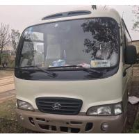 China made in korea Hyundai county bus diesel bus left hand drive second hand buses wholesale