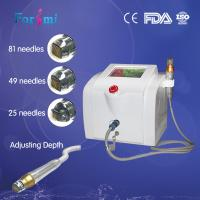 China Professional Fractionated RF Needling Machine With 0.5-3mm Depth on sale