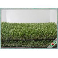 Fake Grass Carpet Outdoor Artificial Grass For Residential Yards / Play Area