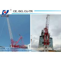 China 2.2ton Tip Load Luffing Jib Tower Crane Specification for 6 ton Crane in Dubai wholesale