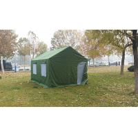 Buy cheap Steady Outdoor Camping Tent / Canvas Army Tent With 80km / H Wind Load from wholesalers