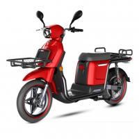 China Red Color Electric Mobility Scooter 72V 20Ah Lithium Battery Wheelbase 1315mm wholesale