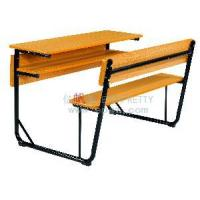 China School Double Desk and Chair (SF-08D) wholesale