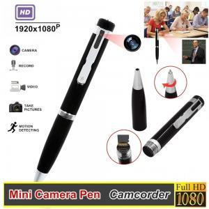 China 1080P Full HD Compact Camera , Hidden Camera Pen Camcoder Million 1/4 Inch COMS Sensor on sale