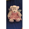 China Free Teddy The Bearington Angel Bear with Pink Dress pattern Custom Plush Toy wholesale