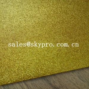 China Shiny Glitter EVA Foam Sheet 2mm Colorful Glitter Thickness Light Foam Sheets wholesale