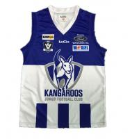 China Sleeveless AFL Football Jerseys Training Rugby Uniforms No Fading Color For Kid on sale