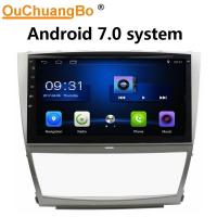 China Ouchuangbo car radio stereo multimedia android 7.0 for Toyota Camry 2006-2011 with USB SWC 1080P Video music wholesale