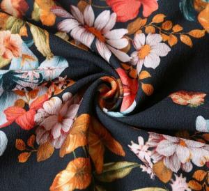 China Lean Textile printed floral chiffon fabric/wholesale chiffon fabric/chiffon fabric wholesale
