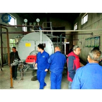 China Industrial 3Ton 3000kg 150Psi Diesel Oil Fired Steam Boiler For AAC Steam-Cured Brick Production Line wholesale