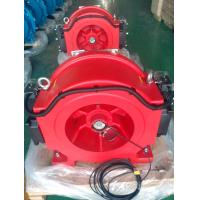 China WTD1-B 630 kg good quality gearless traction machine for electric car lift jack wholesale