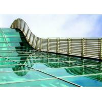 China BS / ASTM Approve 12mm Toughened Safety Glass For Subway Station wholesale