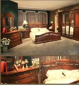 Casa Series Bedroom Furniture, Classic Home Furniture, Classic Bedroom Furniture (TM-DA821)