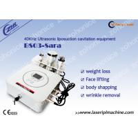 China 40KHZ sonic liposuction Cavitation Fat Burning Machine for Fat Removal wholesale