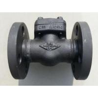 China Vertical Lift Forged Steel Check Valve Flange / Thread End Type Class 150 - 2500 on sale