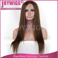 Grade 7A wholesale Invisible knots Brazilian unprocessed hair ombre color silk top full lace wig