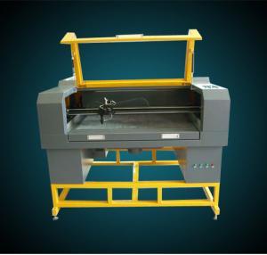 China Plush toys laser cutting machine(JHX-10060S/JHX-12060S/JHX-16080IIS ) on sale