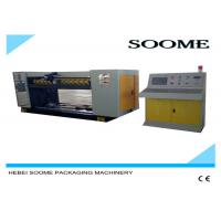 China SS 304 Corrugated Sheet Cutting Machine Technical Performance / Rotary Die Cutting Machine wholesale