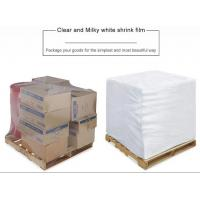China PE Heat Shrink Plastic Film Rolls For Packaging With Customized Size And Colours on sale