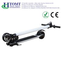 China 20 Km Range Folding Electric Kick Scooter With Front And Rear Suspension 24V , 4.4A , 6.6A , 8.8A wholesale