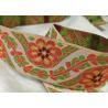 China Fashion Design Printed Striped Cotton Woven Tape Garment Accessories wholesale