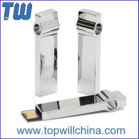 China Shinning Full Metal Jump Drives 32GB 64GB Memory Storage Low Prices High Quality wholesale
