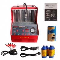 China LAUNCH CNC-602A Fuel Injector Cleaner Machine & Tester 220V - Ultrasonic Cleaning on sale