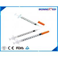 China BM-4003 Medical Plastic Disposable 0.3ml 0.5ml 1ml Free Sample Insulin Syringe Best Seller Medical Injection on sale