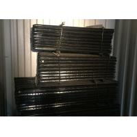 China Black Steel Y Post & Star Picket With Holes For Cattle Fence , Australia Style wholesale