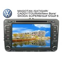China 7 Inch Auto Dual Car GPS DVD Players with FM / AM / RDS for Scirocco / golf 6 / Tiguan wholesale