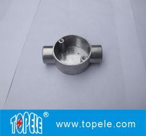 Buy cheap TOPELE boîte de jonction en aluminium de l'angle BS4568/BS31 circulaire bi-directionnel électrique de 20mm/de 25mm, garnitures électriques de conduit from wholesalers