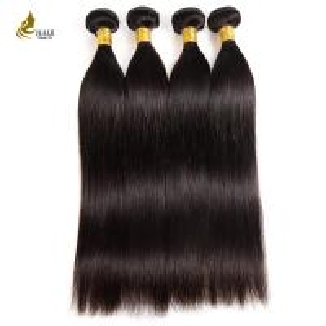 Buy cheap 10A Weave Hair Bundles Natural Color , Smooth Straight Virgin Keratin Hair from wholesalers