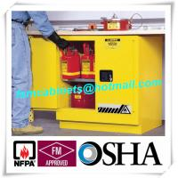 China Flammable Safety Cabinets , Fireproof storage cabinets for Chemical Liquid wholesale