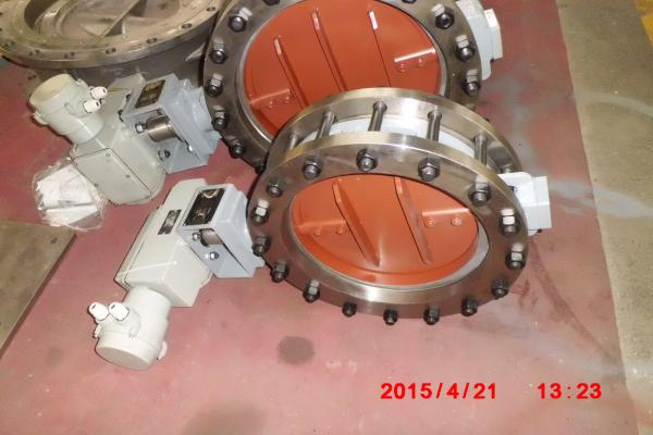 Quality TRCU Electric Low Load Butterfly Valve for Low Pressure / High Temperature Gas for sale
