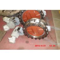 China TRCU Electric Low Load Butterfly Valve for Low Pressure / High Temperature Gas wholesale