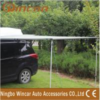 China 280G Canvas Green / Sand Rolling Up Car Awning Tent , OEM / ODM on sale