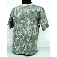 China Digital ACU Camo Men's Military Short-Shirt,Casual Wear Shirt Size:S,M,L,XL,XXL on sale
